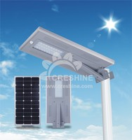 Made in China 2016 led panel rechargeable all in one intelligent solar energy street light 40w