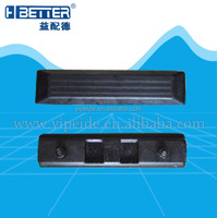 Small vehicle rubber track system