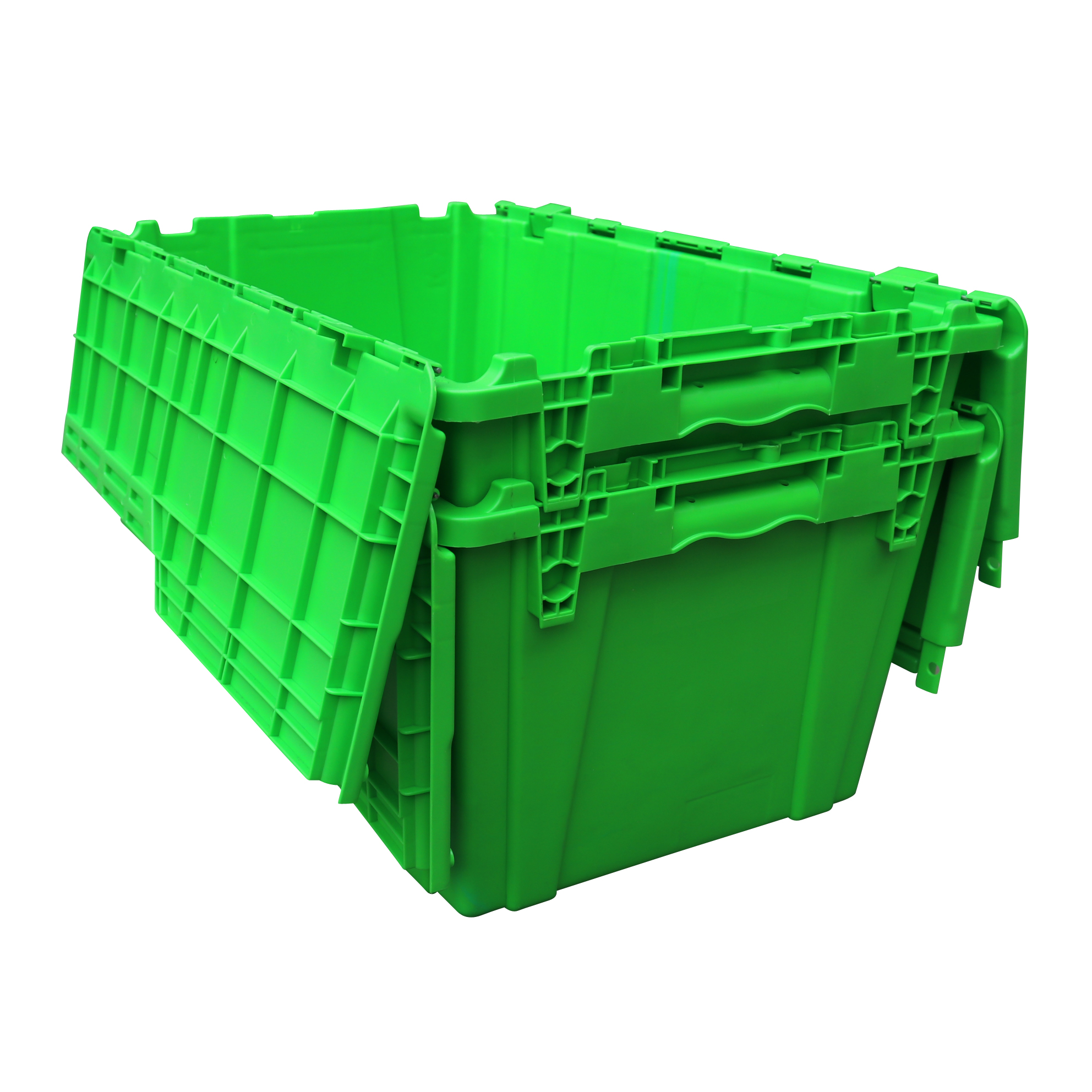 680*430*320mm Plastic Moving Crates with Dolly