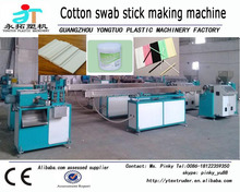 Plastic Stick Making extrusion machine for cotton buds, lollipop and drink straw