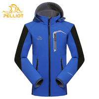 Mens waterproof soft shell jacket 10000mm for winter
