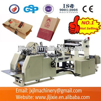 CY-400 Automatic High Speed Food Paper Bag V Bottom Forming Machine