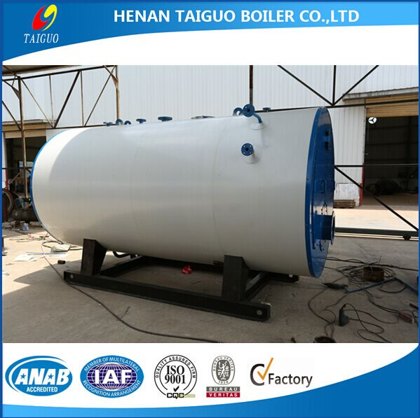 Industrial usage and hot water output oil/gas fired boiler