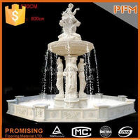 Best selling white large outdoor bronze fountain