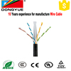 High density 4 twisted pair low crosstalk Electrical wires cables Cat6 Cable