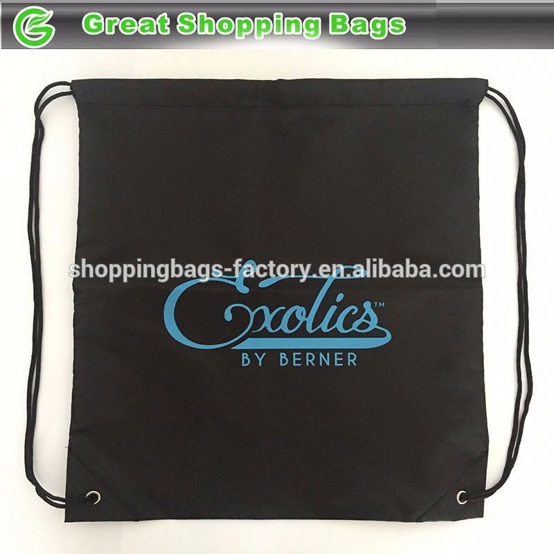 Exotics metallic promotional tote bags