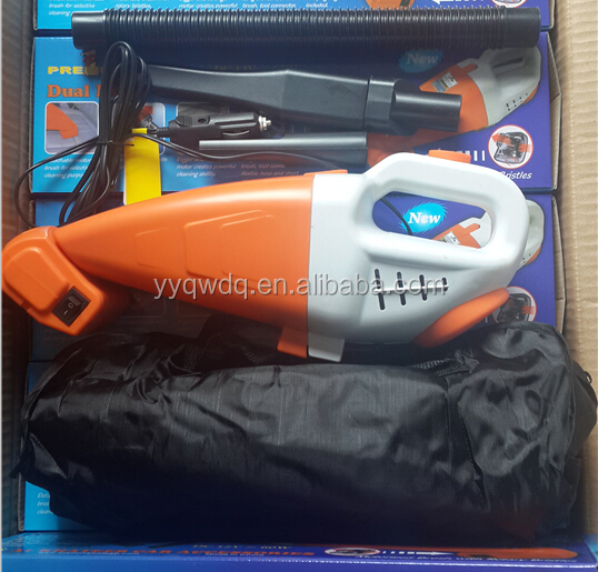 12v handheld car vacuum cleaner with air compressor