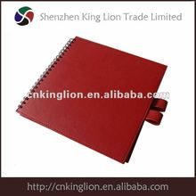 2012 popular & cheap pu agenda for promotion