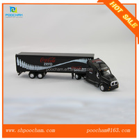 Scale model american truck toy 1 64