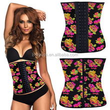 Dual column hook-and-eye closures with sexy waist cincher
