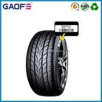 China Tyre Label Material for Vulcanization Adhesive Tire Barcode Label Stickers, Heat Resistant Vulcanization Tire Label