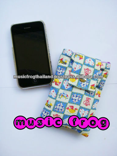 Cotton phone bag