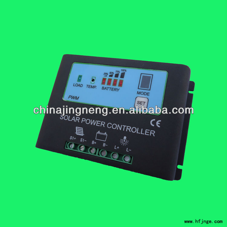 Solar Regulator 30A Solar Power Controller With Power Display,Metal Shell & CE