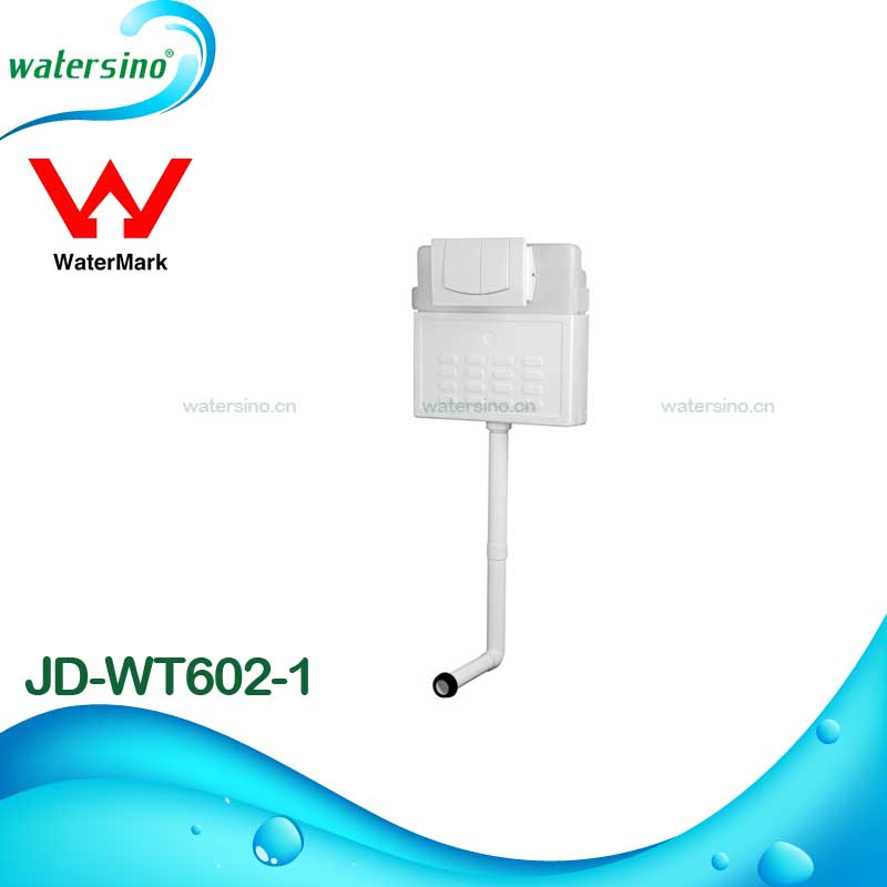 Watermark new design hidden in-wall toilet fittings of wall hung toilet conceal cistern