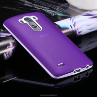 Hot Sale TPU Jell Slim Soft Back Case Cover for LG Optimus G3 Smartphone Case