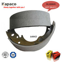 Wholesale Japanese car brake shoe with brake shoe lining K4443