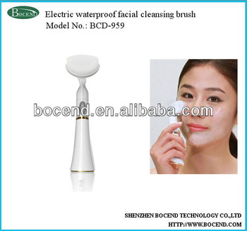 Soft electric face massager facial clean brush
