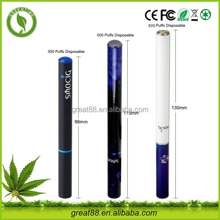 Greentime hot sale 280mah 500 puffs eliquid electronic shisha e hookah with 10 different flavor