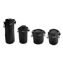 Matin DSLR Camera Lens Bag for Canon Nikon Waterproof Neoprene Soft Case S+M+L+XL SLR Pouches for Camera Lens Protective Bags