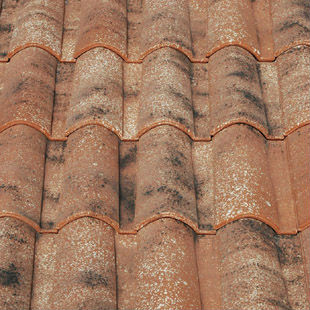 "Spanish, ""Rioja"", ""Mixed"", roman ceramic roof tile, made of clay"