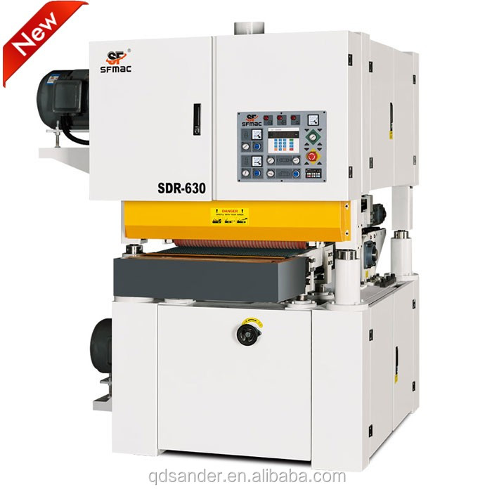 New product SDR-630 Double wood working mdf plywood sanding machine