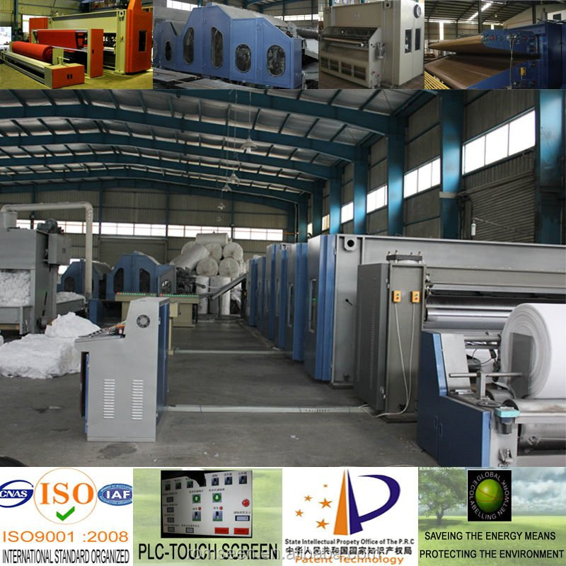 Best selling China exporting Nonwoven Machinery Production Line