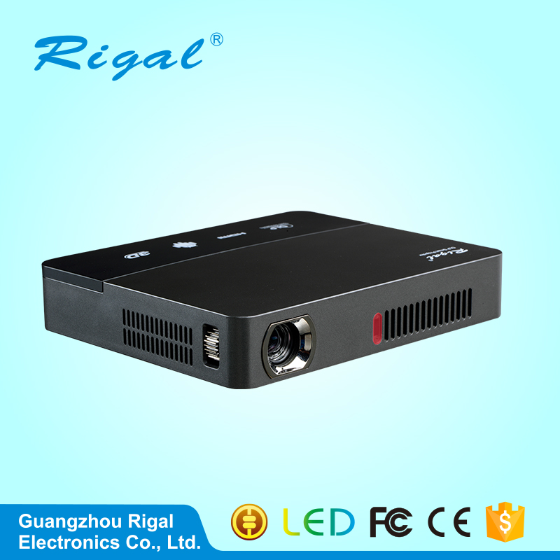 2017 Newest model mini DLP projector home use bluetooth beamer built-in Android and wifi system hot sell LED projector