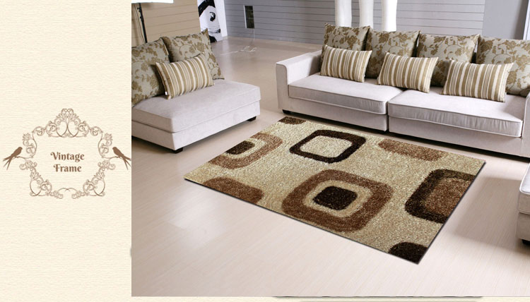 shaggy high low pile rug living room