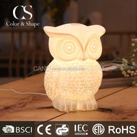 Owl Design Decoration Lighting Table Lamp