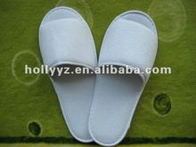 2014 hot sale comfort fit velour hotel slippers disposable