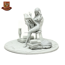 Factory custom made ammo slave tiny sexy girl resin model kit