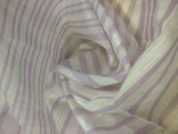 20% SILK 80% COTTON 10MM HIGH GRADE PRINTED ORGANZA FABRIC