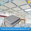 Indoor wall decoration powder coated material clip-in aluminum ceiling tile