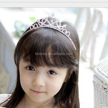 KS40004A High quality elegant princess crown hairband charming latest hairband designs