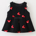 Cute cartoon pattern baby girls dress cotton sleeveless girls dress wholesale