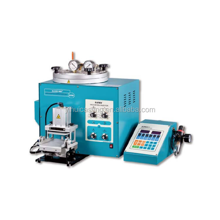 Digital Vacuum Wax Injector for wax injecting for jewelry moulding