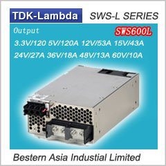 SWS600L-15 Lambda SWS600L-24 AC-DC Power Supply