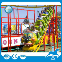 China small roller coaster for sale ! kiddie amusement park trains