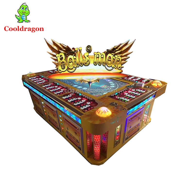 Fish Hunter Machine /Shooting Fishing Game for Sale/ 100% EARN Money Balls Man 3D Real Fish Game