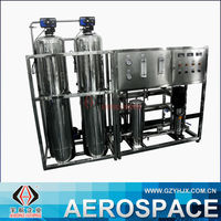 500L Reverse Osmosis Water Purification Machine Laundry Water Recycling System River Water Purification