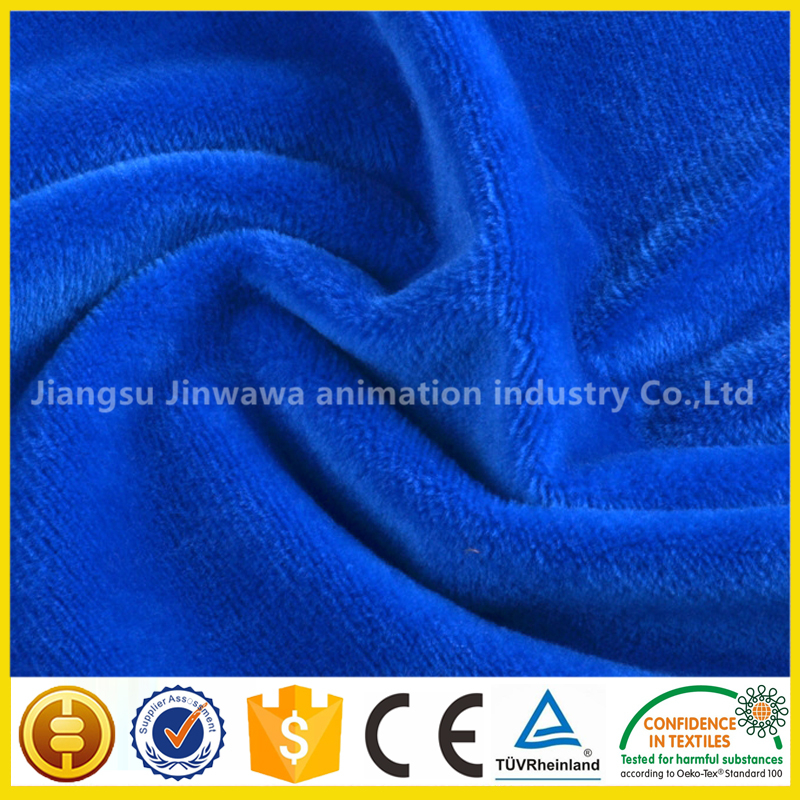2017 Wholesale China supplier home textiles fabrics for blankets velboa fabric western textile fabric