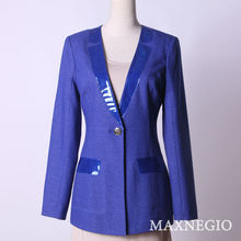 royal blue suits for women