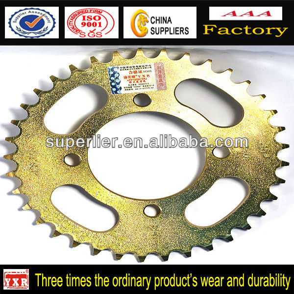 Custom Motorcycle Accessories,motorcycle sprocket gearing, Motorcycle Sprocket 428 38T