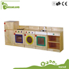 Hand Crafted Solid Wood Pretend Play Kitchen Set