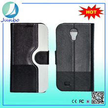 Original fancy custom flip cover leather wallet case for samsung galaxy s4 zoom