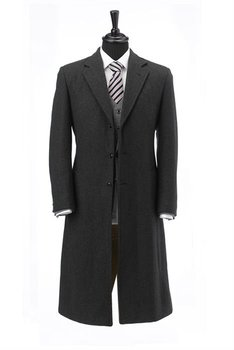 Overcoat Made to Measure Bespoke Italian Wool and France Wool Platinum Quality