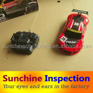 Remote Control Cars Quality Control Inspection Service in Dongguan