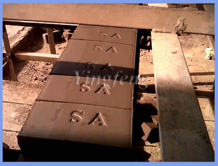 Low budget price JZ400 fired clay solid brick making machine