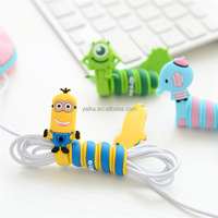 silicone headphones cable winder/earphone cable winder