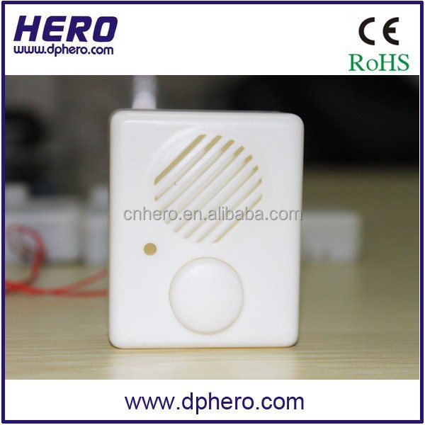 Motion actived sensor recordable sound box for advertising or promotion speaker